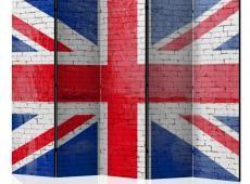 Paraván - British flag II [Room Dividers]